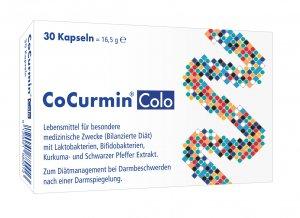 Cocurmin® Colo zum Wiederaufbau der Darmflora nach einer Darmspiegelung